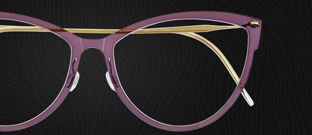 Purple Lindberg Frames