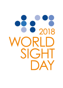 The 2018 Wold Sight Day Logo